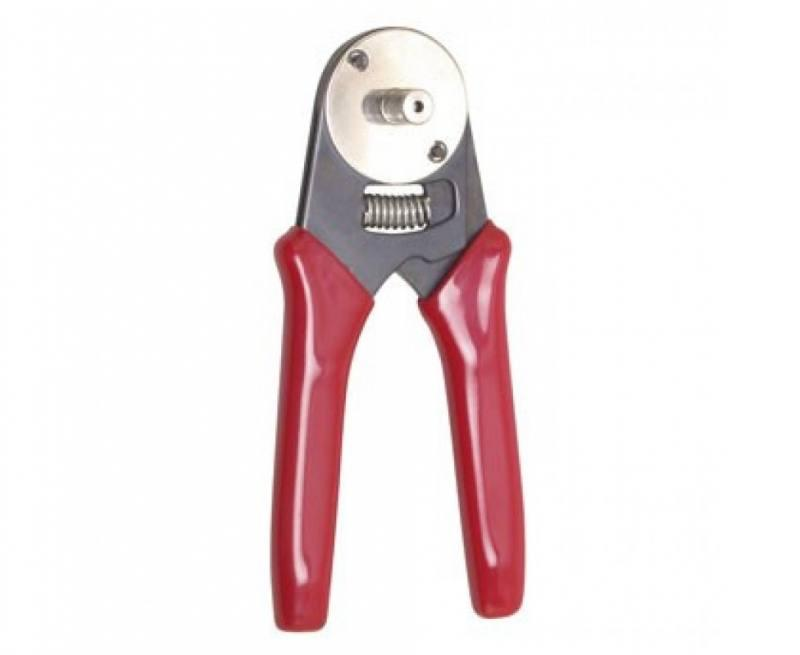 608-400 Клещи для обжима цилиндрических контактов разъемов RS232 D-sub Pro'sKit
