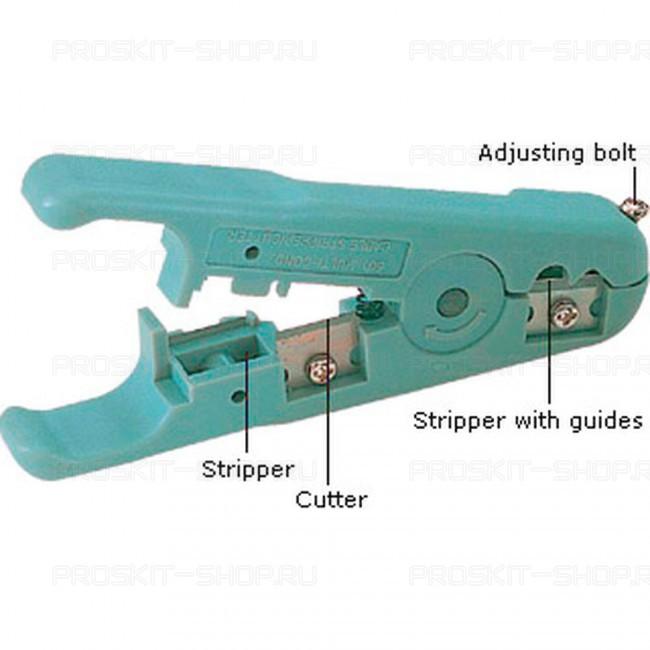 6PK-501 Pro'sKit Нож для зачистки кабелей универсальный