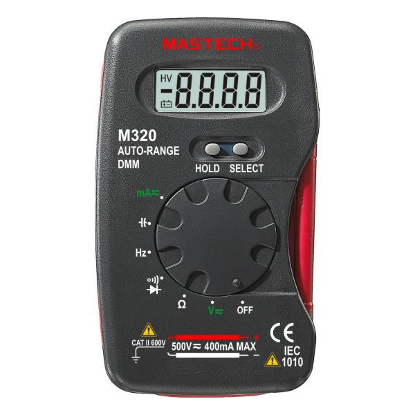 M320 Mastech цифровой автоматический компактный мультиметр