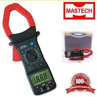 MS2000G Mastech клещи токоизмерительные цифровые ACA (ACV/DCV, сопр.,прозвон, темп., частота, графич. шкала)