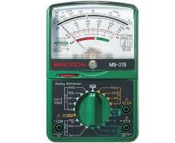 MS319 аналоговый стрелочный мультиметр  Mastech