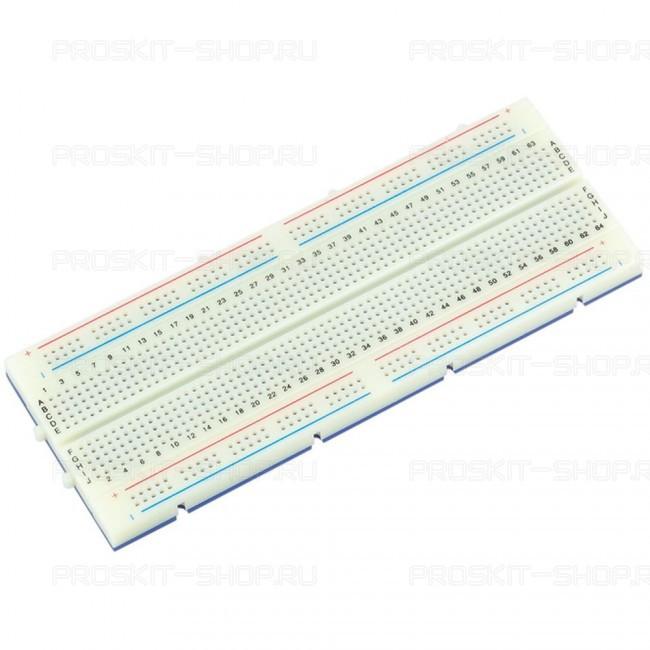 BX-4112N/BX-4112 Плата макетная (64х171мм, 840 отверстий) Pro'sKit
