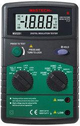 MS5201 Mastech мегаомметр цифровой(измеритель сопротивления изоляции)