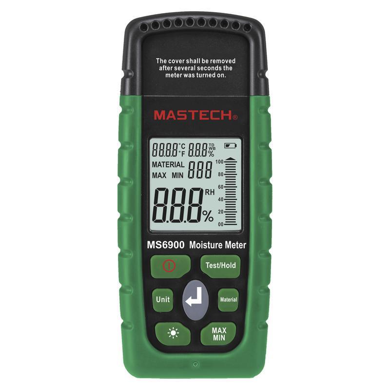 MS6900 Mastech измеритель влажности строительных материалов
