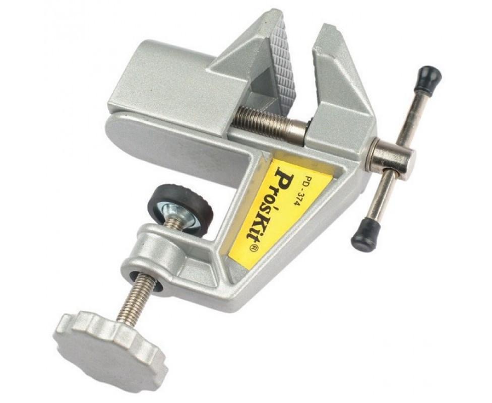 PD-374 Pro'sKit (аналог 8PK-374) Тиски (открытие до 50мм, струбцина до 30мм)