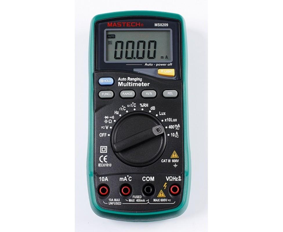 MS8201G цифровой автоматический мультиметр  Mastech(из ремонта)