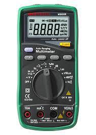 MS8209 Mastech цифровой автоматический мультиметр + шумомер, люксметр, изм. влажности