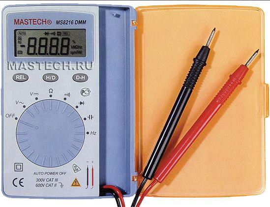 MS8216 Mastech цифровой мультиметр-книжка*