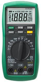 MS8221 Mastech цифровой автоматический мультиметр  *