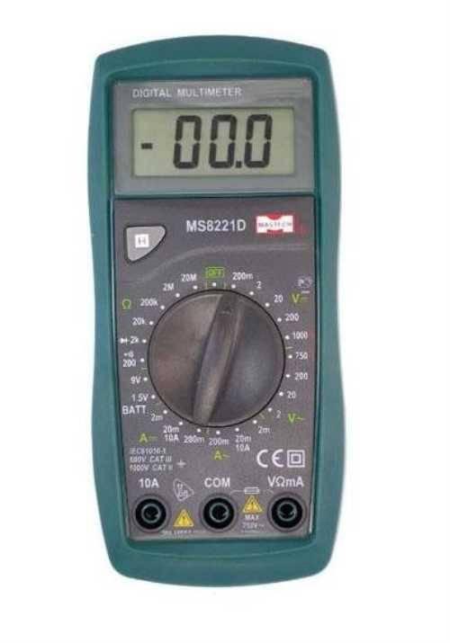 MS8221D Mastech цифровой мультиметр  *