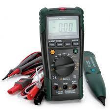 MS8236 Mastech цифровой автоматический мультиметр+ кабельный тестер