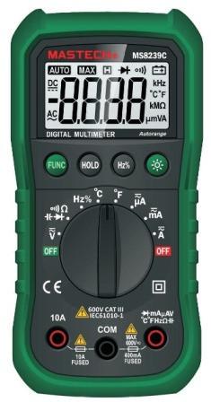 MS8239C Mastech цифровой автоматический мультиметр