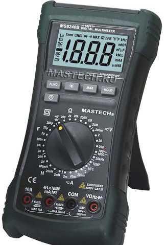 MS8240B Mastech цифровой мультиметр*