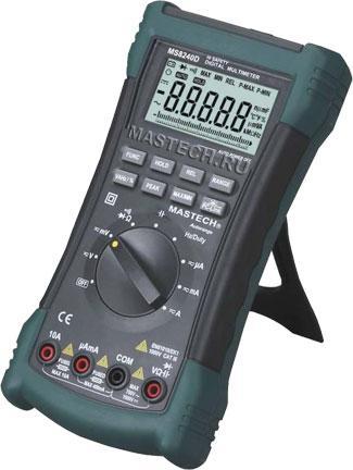 MS8240D Mastech цифровой автоматический мультиметр (USB) *