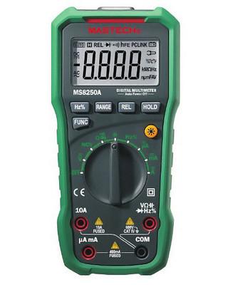MS8250A Mastech цифровой автоматический мультиметр с детектором напряжения