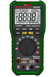 MMS8252B Mastech цифровой автоматический мультиметр с детектором напряжения, TRUE RMS