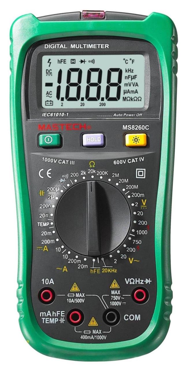 MS8260C Mastech цифровой мультиметр с детектором напряжения*