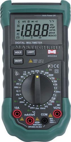 MS8264 Mastech цифровой мультиметр
