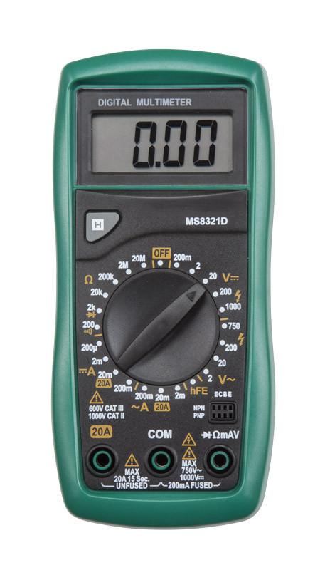 MS8321B Mastech цифровой мультиметр с детектором напряжения