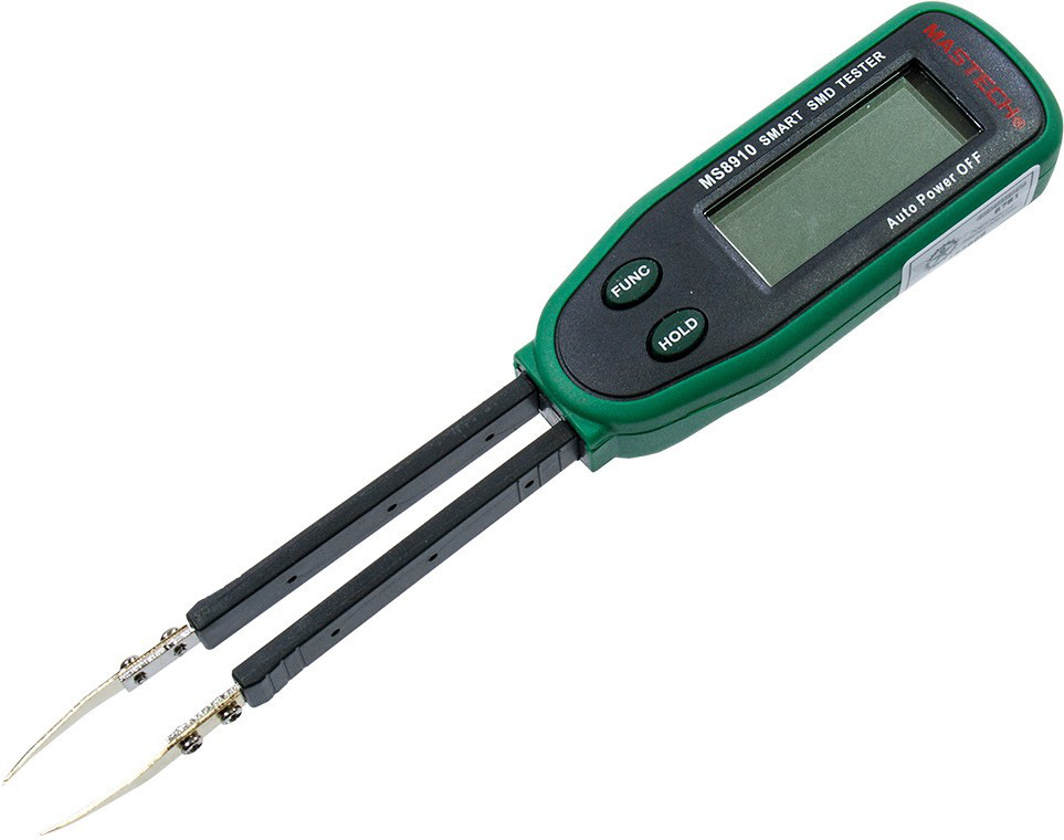 MS8910 Mastech цифровой мультиметр-пинцет для SMD компонентов