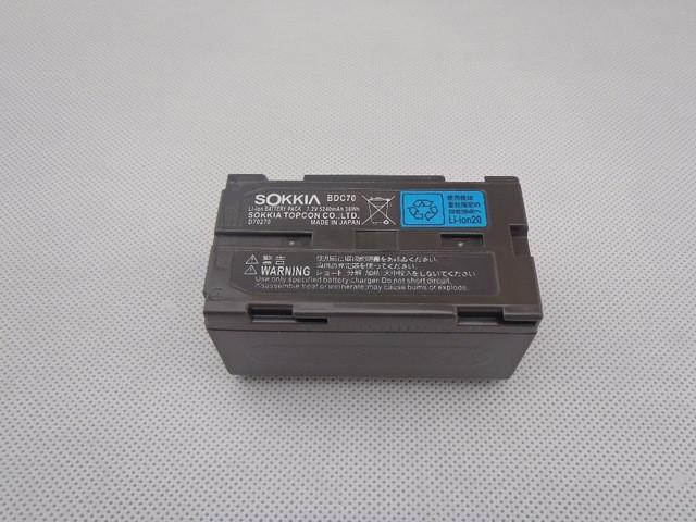 Батарея TOPCON BDC70 Li-ion battery 7.2V 5240mAh