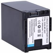 Аккумулятор для CANON BP-827 (ДУБЛИКАТ)