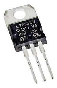 Трехконтактный регулятор напряжения 7805 L7805CV TO-220