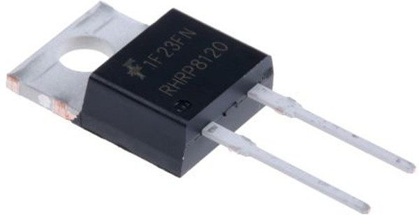 RHRP8120, Диод 8А 1200В 55нс [TO-220AC]