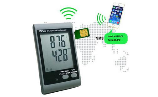 GSM SMS сигнализации температура и влажность Регистратор данных АМТ-138E