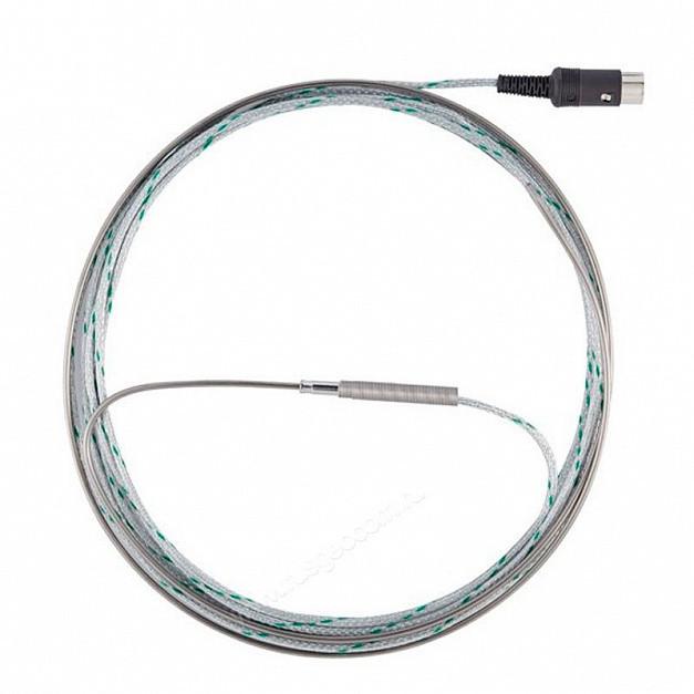 Термопара NiCr-Ni тип К, длинной 2,2 м, диам., 2 мм,  -200 до + 1200 °C