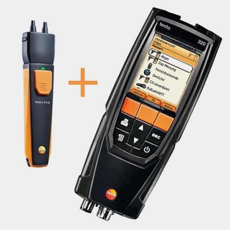 Комплект Testo 320 с H2-компенсацией, +смарт зонд 510i