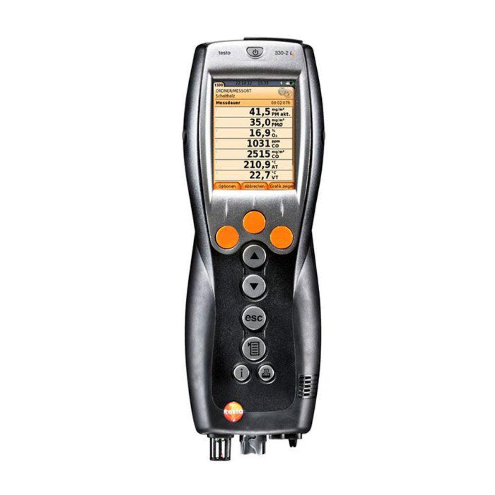 Комплект Testo 330-2 LL BT+мультиметр Testo 760-2 с магнитным креплением, кейс