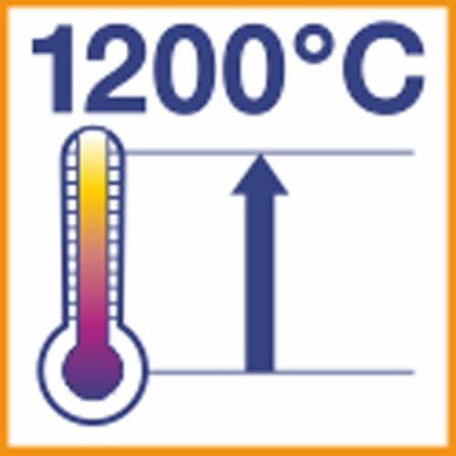 Расширение температурного диапазона до 1.200°C