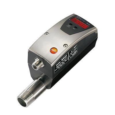 """Testo 6441 счетчик сжатого воздуха DN15 (1/2"""") с аналоговым, импульсным и переключаемым выходом"""