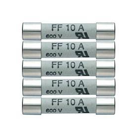 Комплект плавких предохранителей 5x 10A/600V