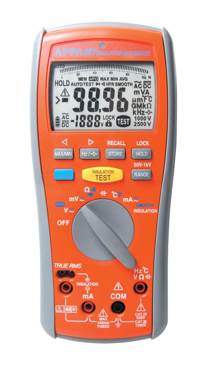Мультиметр-мегаомметр APPA 607