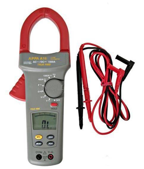 Клещи электроизмерительные APPA A16