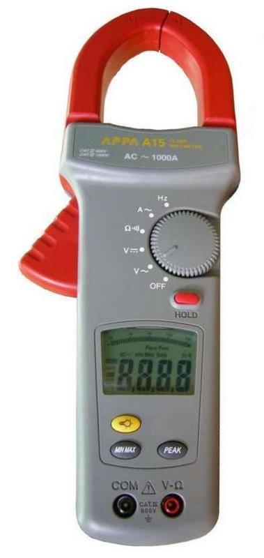 Клещи электроизмерительные APPA A15