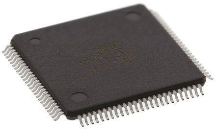 Микроконтроллер ATmega2560-16AU 8-Бит, AVR, 16МГц, 256КБ Flash