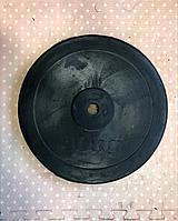 Резиновые блины для штанги грифа (диски) фитнес 10 кг (2 шт)