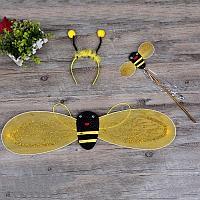 Набор крылья Пчелы, ободок и волшебная палочка Пчелки