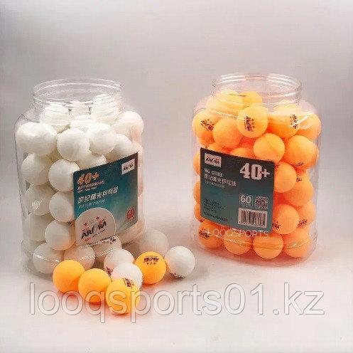 Шарики (мячи) для настольного (на стольная) тенниса Aurora 40+ 3*
