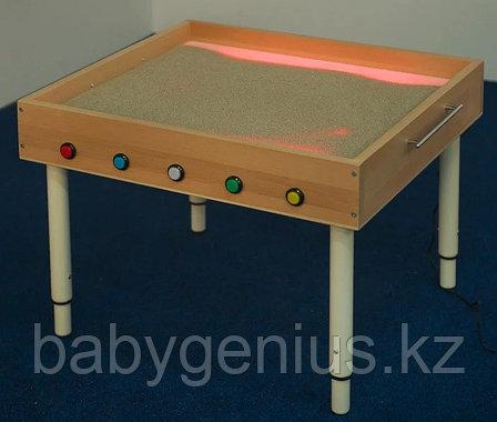 Световой стол из сосны для рисования песком, фото 2