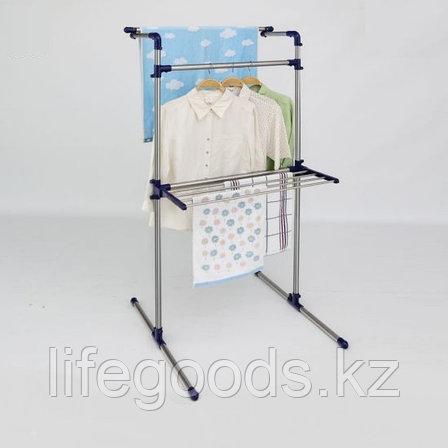 Напольная сушилка для белья с вешалкой YOULITE YLT-0401E, фото 2