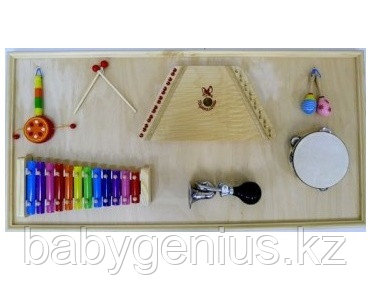 Панель с музыкальными инструментами, фото 2