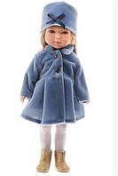 Карлота в синем бархатном пальто, 28 см (Vestida de Azul, Испания)