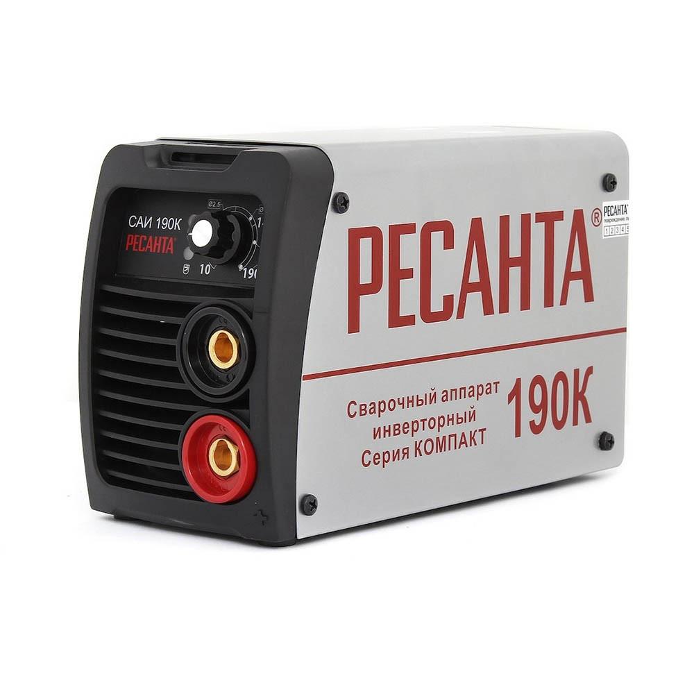 Сварочный аппарат инверторный Ресанта компакт САИ 190
