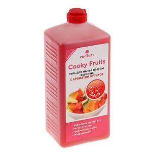 Средство для мытья посуды Cooky Fruits, фрукты, концентрат, 1л
