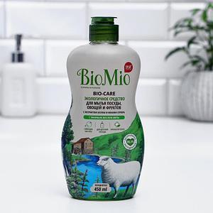 Средство для мытья посуды BioMio BIO-CARE с ароматом мяты, 450 мл