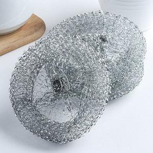 Набор губок для чистки посуды, 12 гр, 3 шт